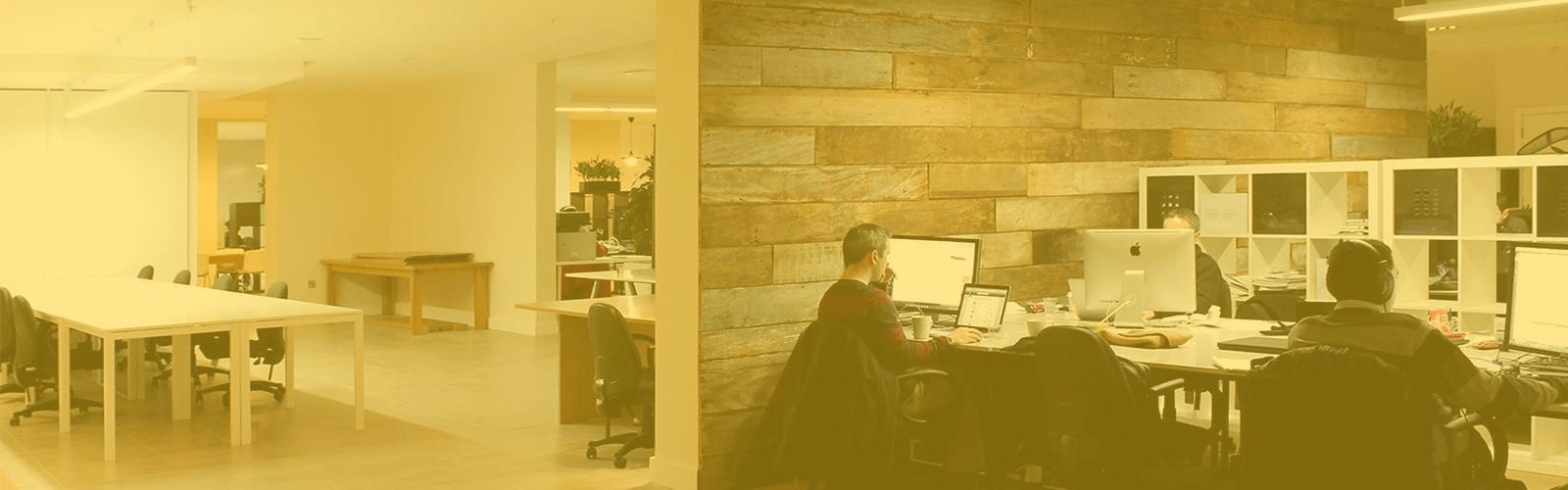 worker, coworking, computer, desk, openspace