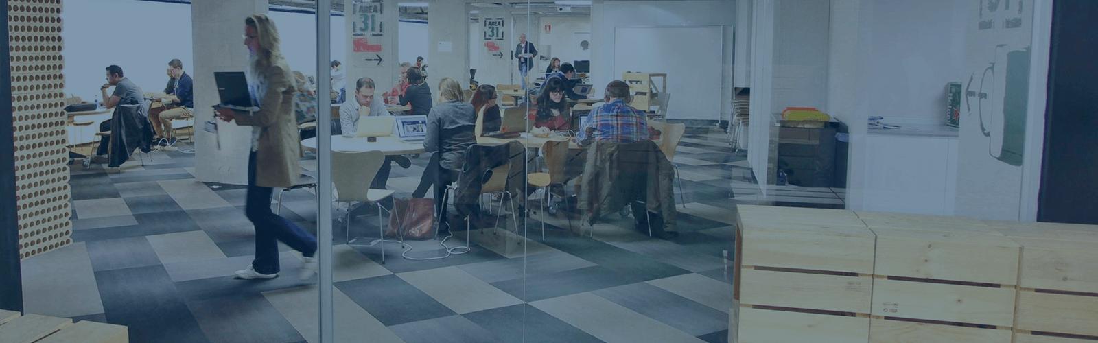 openspace, worker, computer, coworking